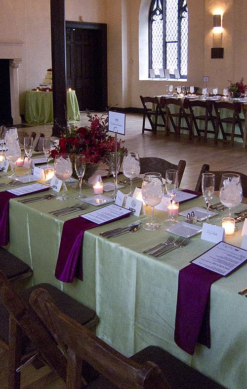 long table setting – Loris Decoration