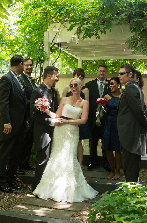 Stunning June Afternoon Wedding Reception In The Garden Chase