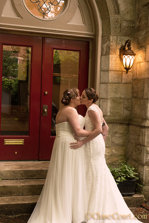 Intimate LGBTQ Wedding at Chase Court in Baltimore » Chase Court ...