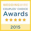 2015 Wedding Wire Couples Choice Award