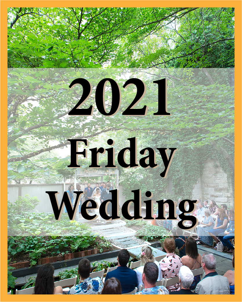 2021 Friday Wedding