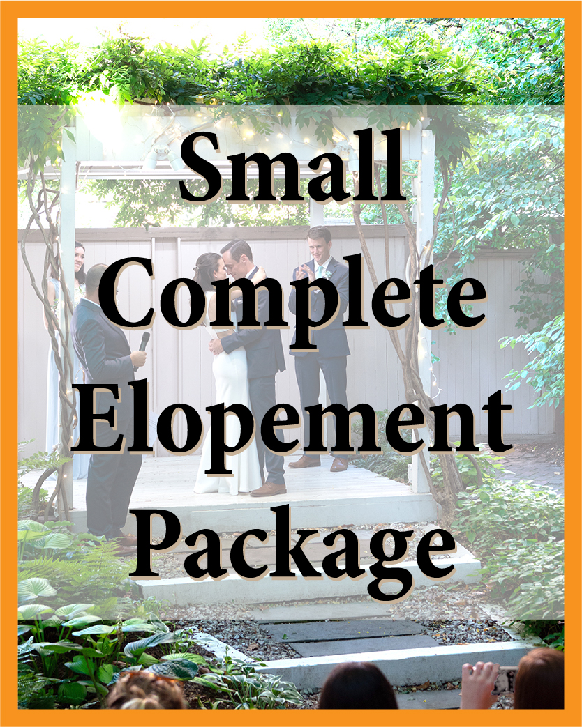 Small Complete Elopement Package