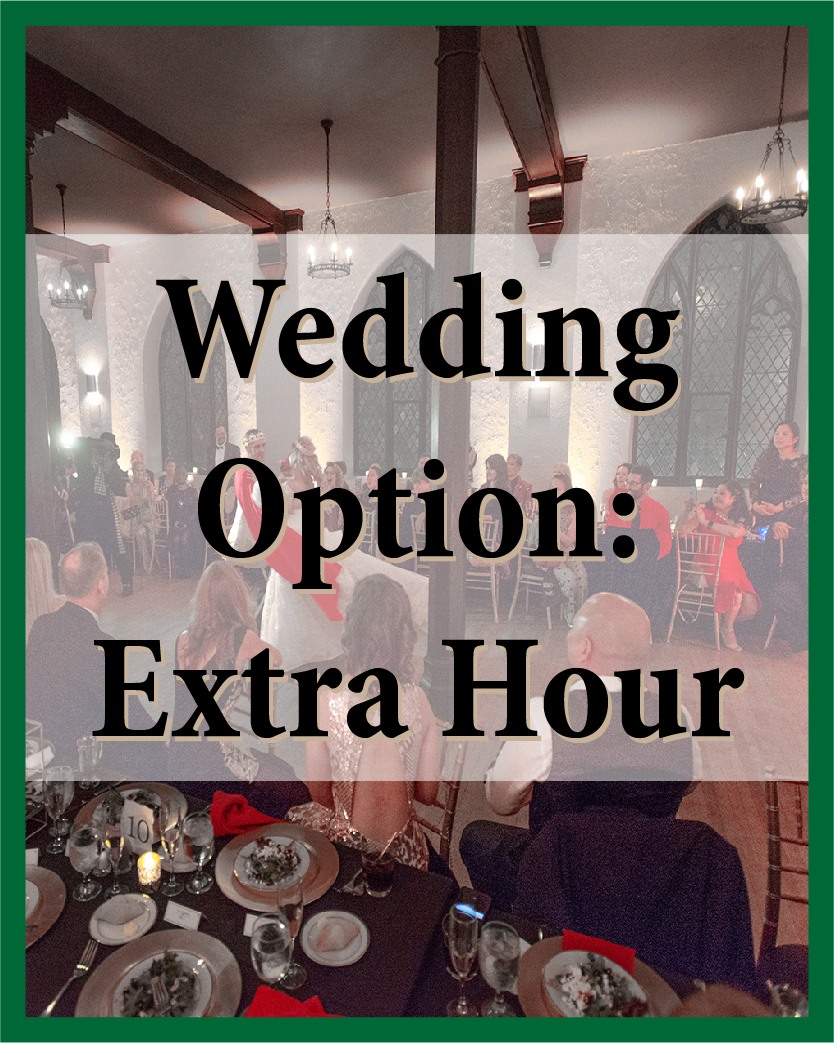Wedding Extra Hour