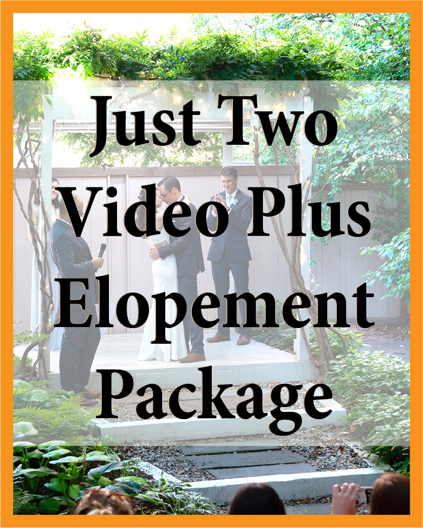 Just Two Video Plus Elopement Package